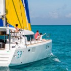 Lagoon 39 name 'Le Grand Bleu'