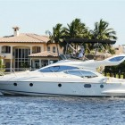 Azimut 43 fly name 'Shine IV'